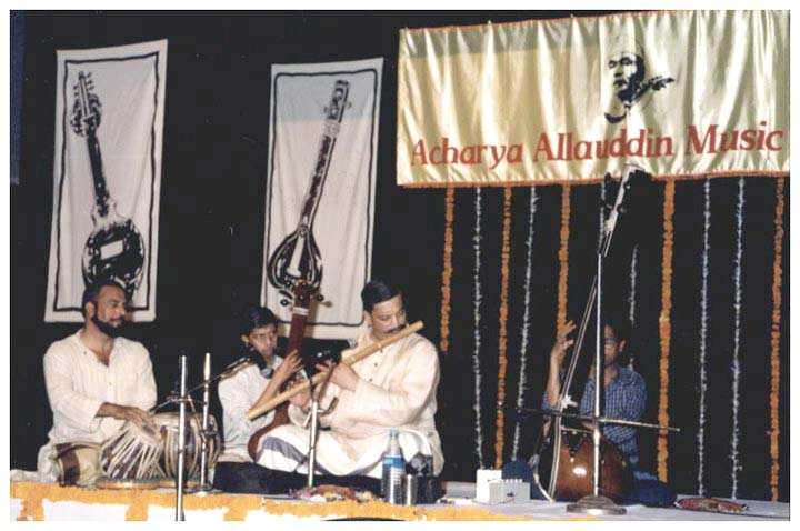 Nityanand Haldipur - Bansuri accompanied by Vibhav Nageshkar - Tabla at the Acharya Allauddin Khan Music Festival